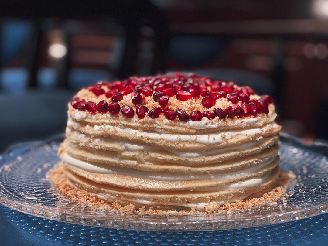 Торт-сметанн