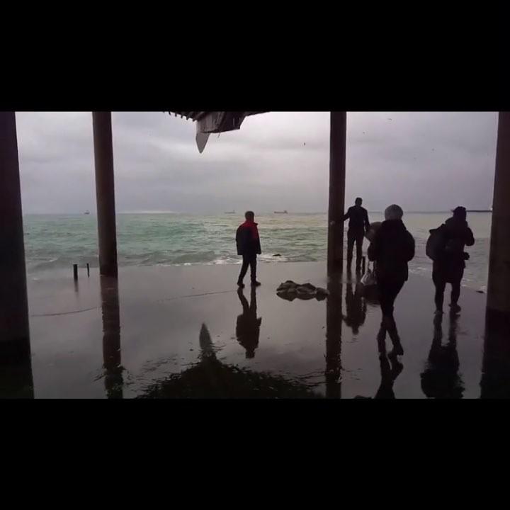 Видео с места спасения мальчика в Ялте