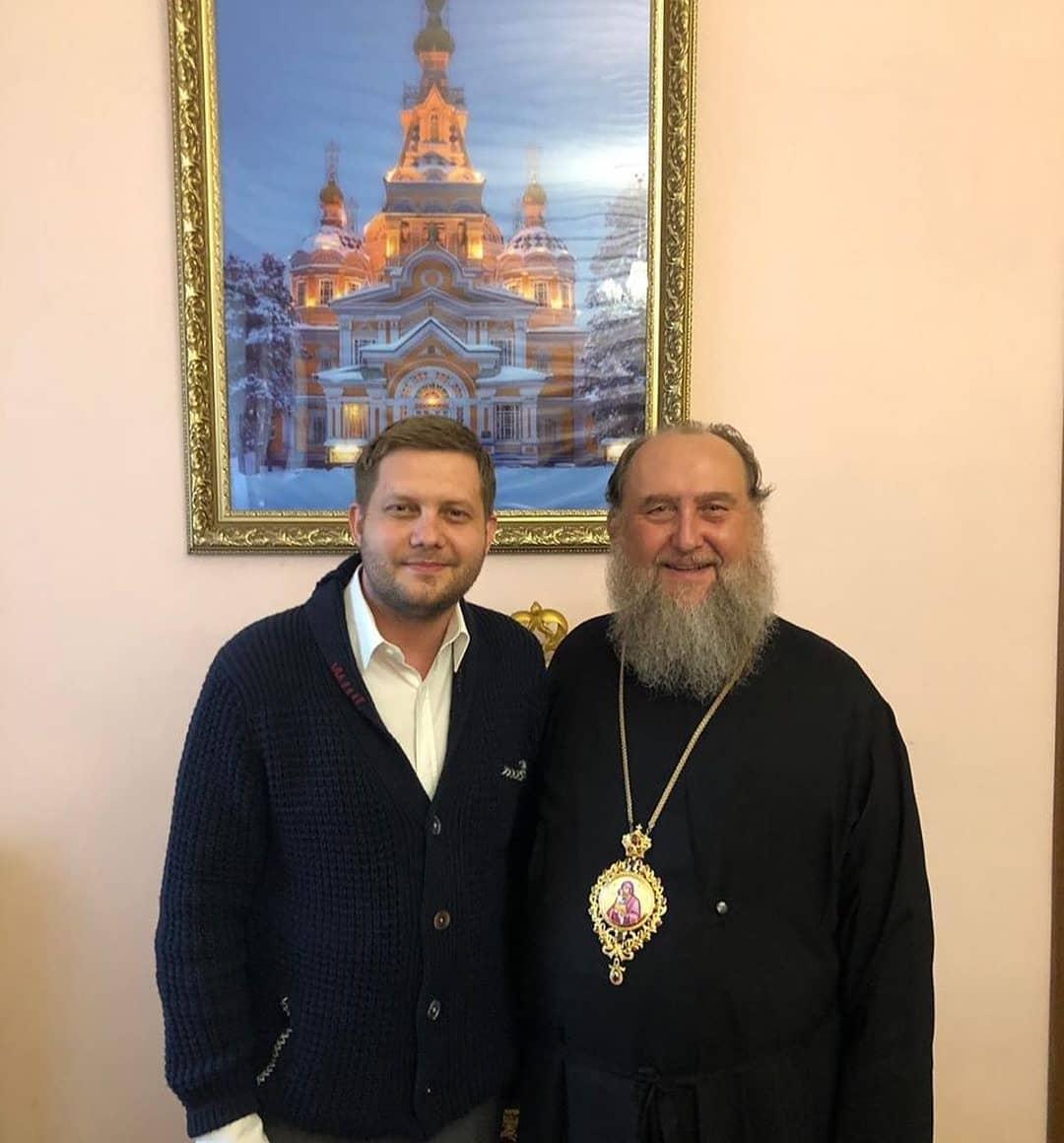 Радость встречи с Владыкой Александром Казахстанским