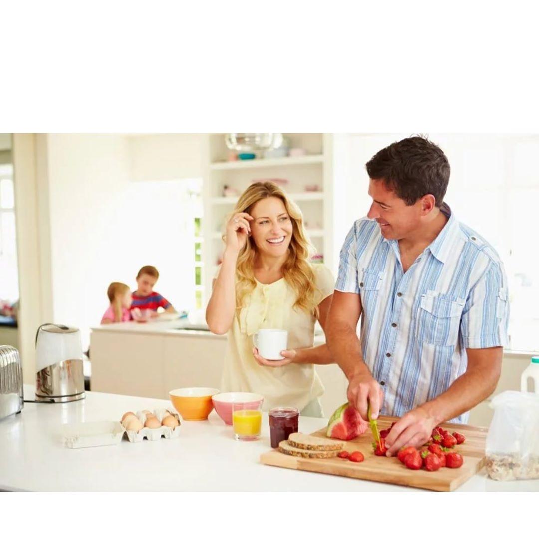 Случайно наткнулась в инете на такие « волшебные « фото с Кухни большой семьи