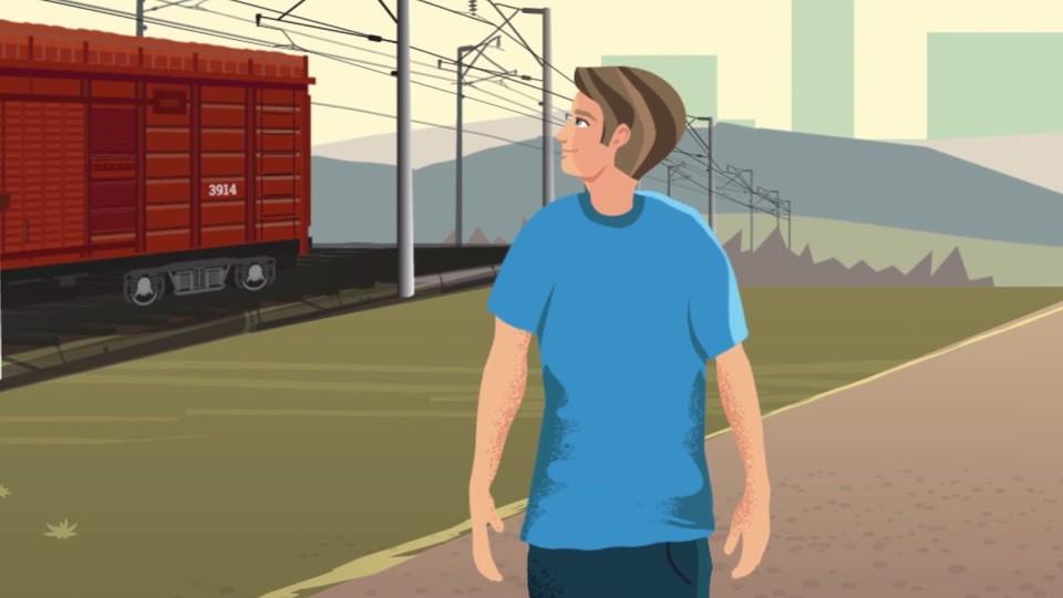 Осторожность и внимательность - залог безопасности на железной дороге
