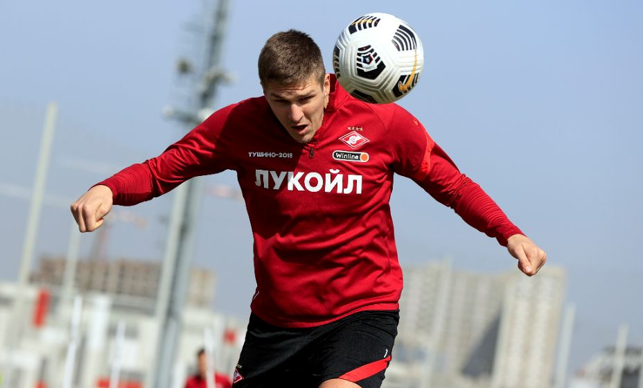 Александр Соболев принес победу. Фото: Global Look Press.