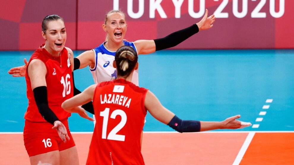 Россия - Аргентина - Олимпиада