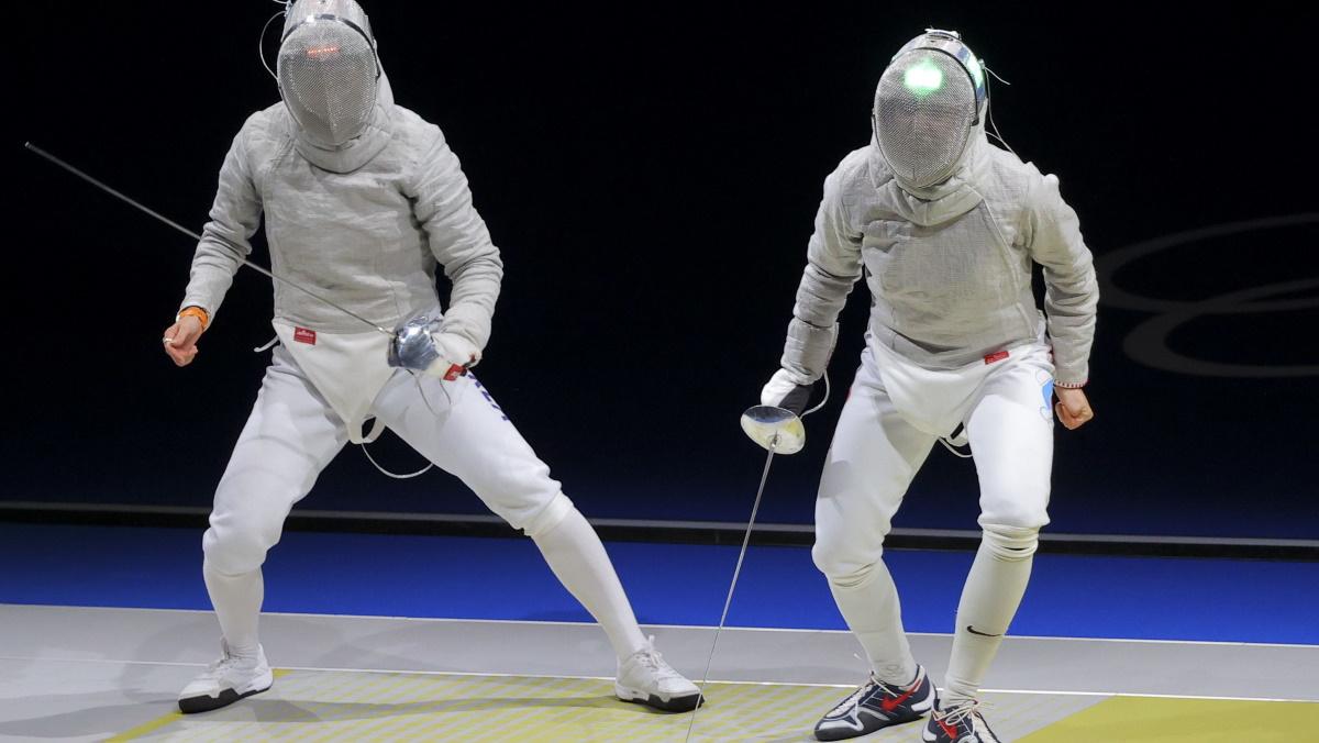 Российские саблистки победили Южную Корею и прошли в финал. Фото: REUTERS