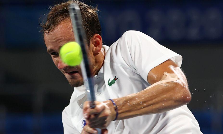 Даниил Медведев вышел в финал турнира в Торонто. Фото: Reuters