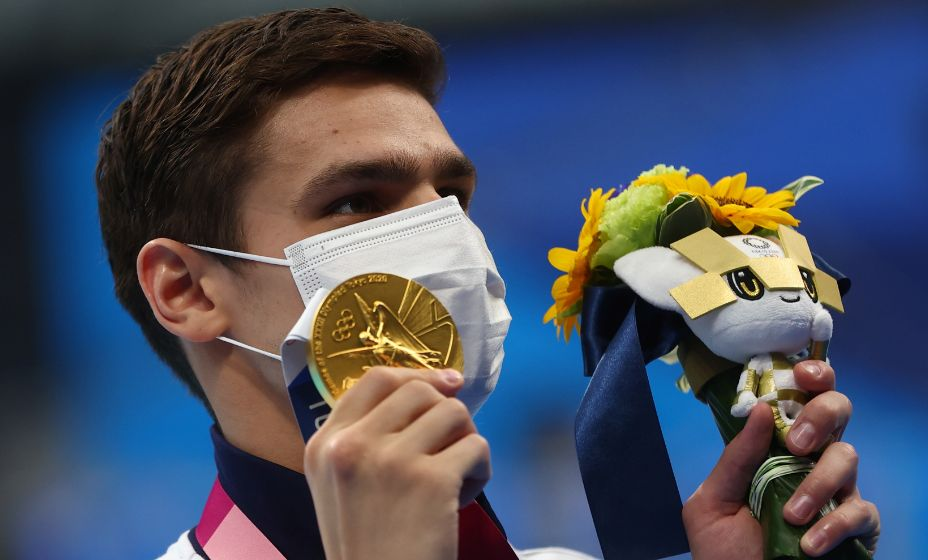 Пловец Евгений Рылов принес России очередную золотую медаль Олимпиады-2020. Фото: Reuters