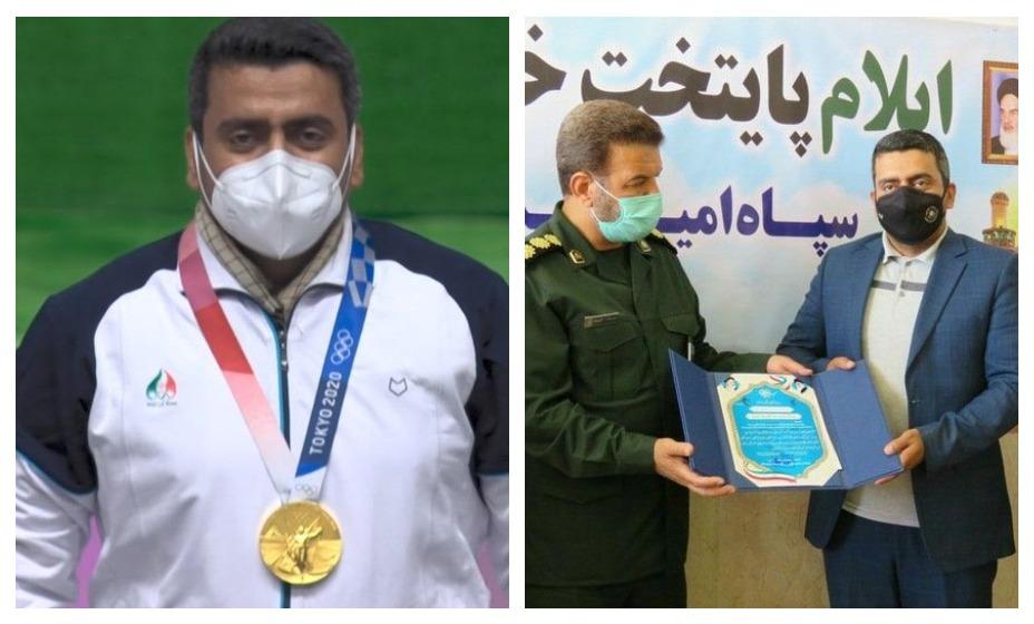На иранского олимпийского чемпиона Джаваду Форуги накинулись правозащитники. Его обвиняют в членстве террористической организации. Фото: Twitter