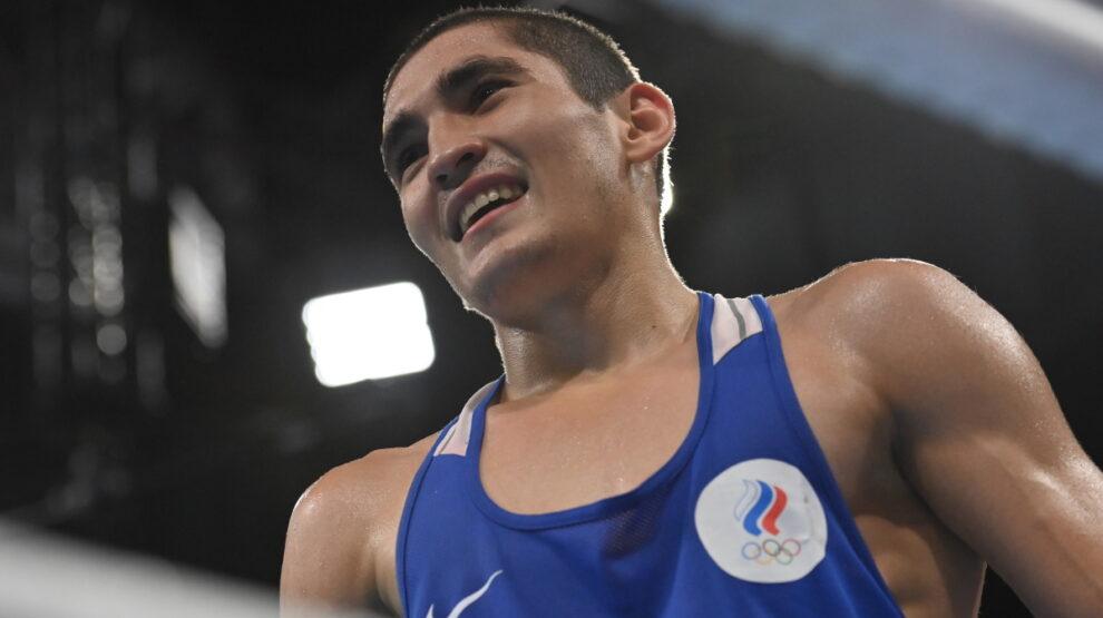 Батыргазиев - Олимпиада - бокс