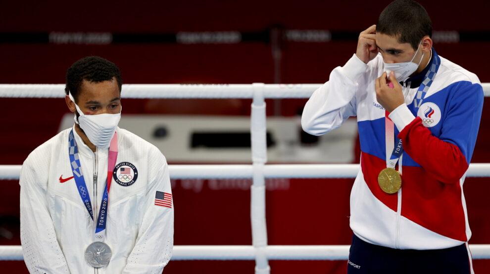 Альберт Батыргазиев - Олимпиада - бокс
