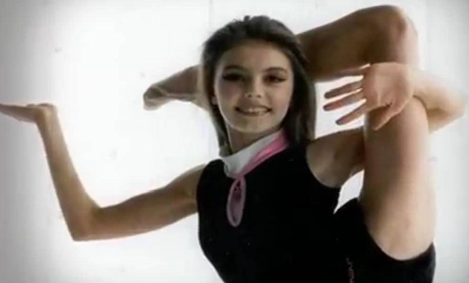 Алина Кабаева в детстве. Фото: Instagram alina_kabaeva_fan