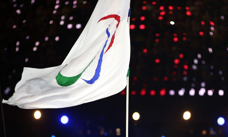 Флаг Международного Паралимпийского комитета. Фото: Global Look Press