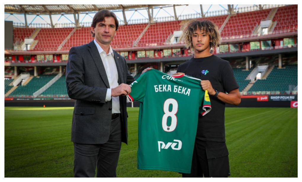20-летний французский игрок Алексис Бека Бека стал игроком «Локомотива». Фото:   сайт «Локомотива»