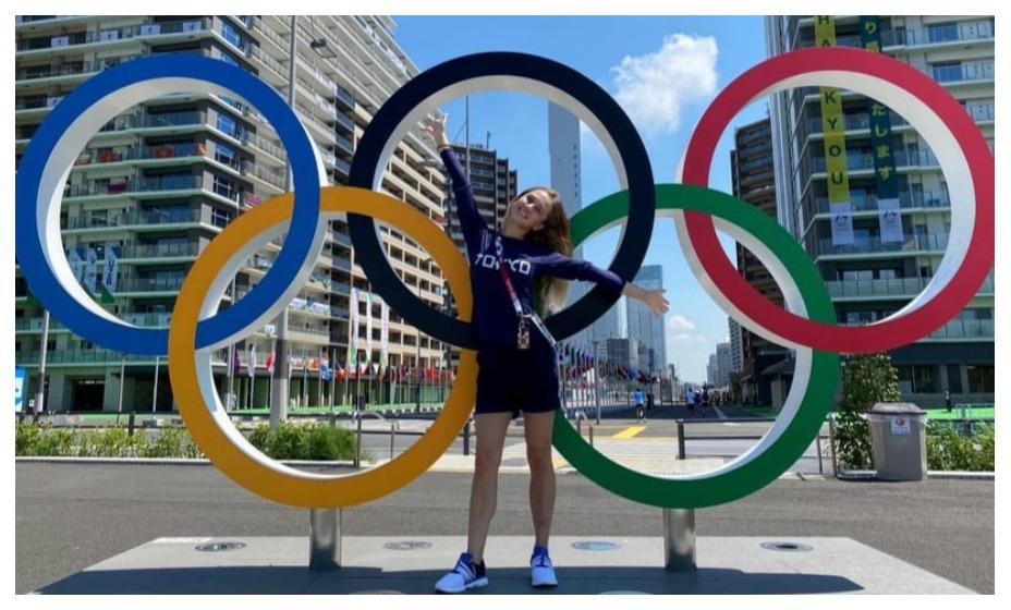Прыгунья в воду Юлия Тимошинина заняла десятое место с 10-го трамплина. Фото: Инстаграм Тимошининой
