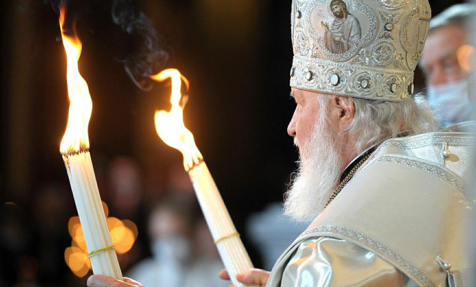 Патриарх Кирилл обратился к российским спортсменам, которые вернулись из Токио. Фото: Global Press Look