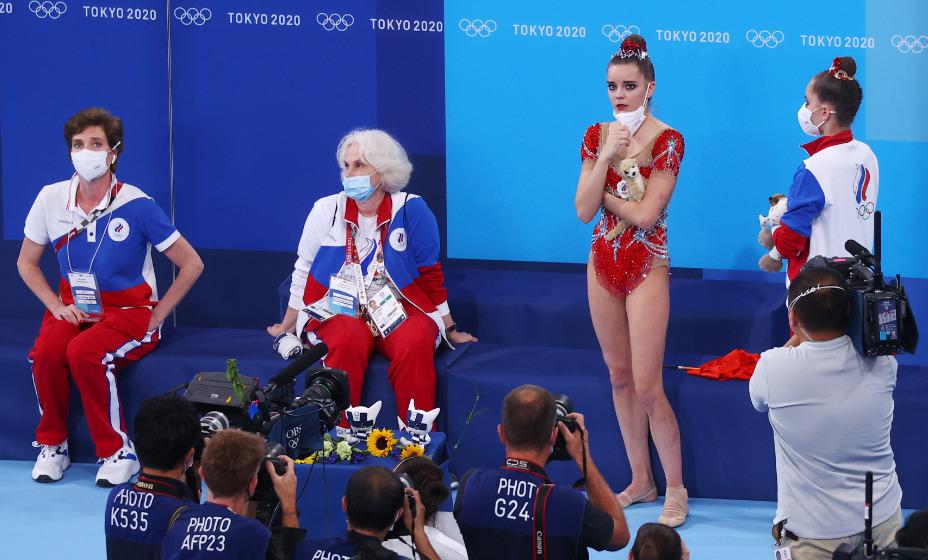 Российские гимнастки Дина и Арина Аверины заняли второе и четвертое место соответственно на Олимпийских играх в Токио. Фото: Reuters
