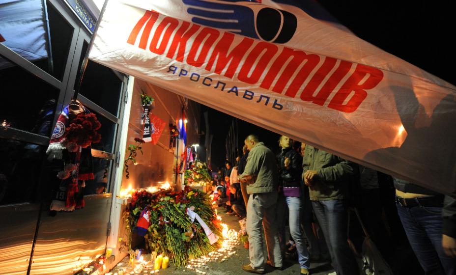 В Ярославле почтят память хоккеистов «Локомотива». Фото: Global Press Look