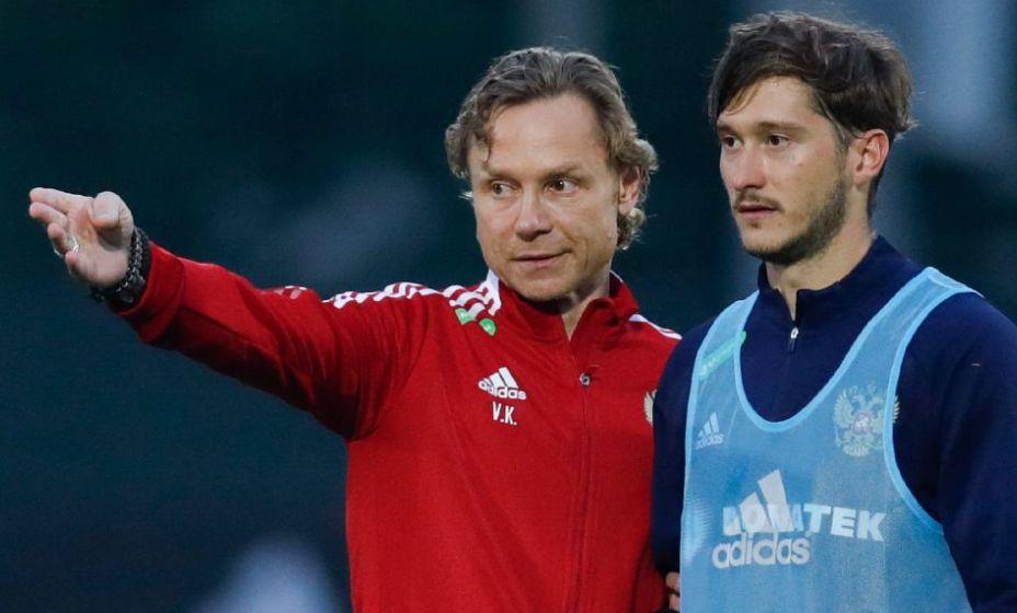 Главный тренер Валерий Карпин делал ставку на Алексея Миранчука. Фото: РФС