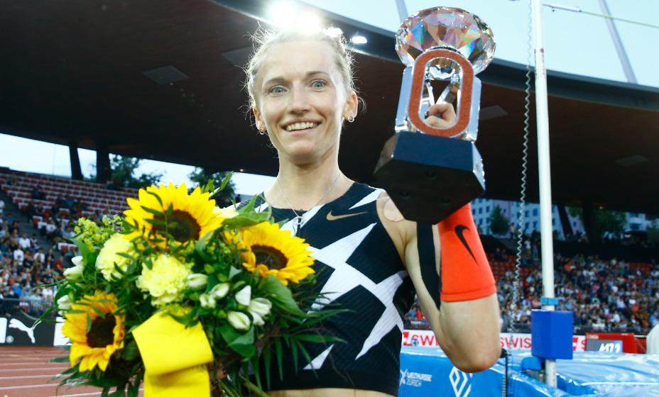 Легкоатлетка Анжелика Сидорова - победитель Бриллиантовой лиги в Цюрихе. Фото: Reuters
