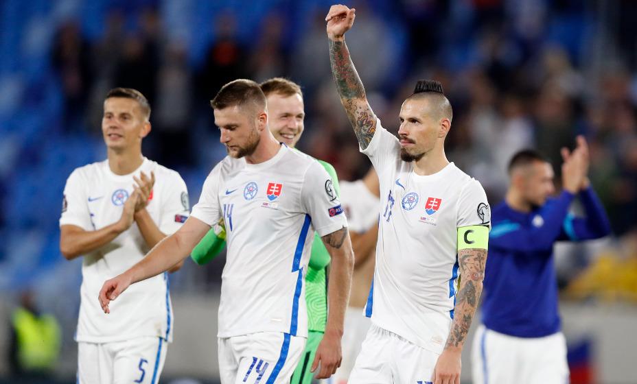 Сборная Словакии сумела дважды поразить ворота киприотов и добыла победу в матче отбора на ЧМ. Фото: Reuters