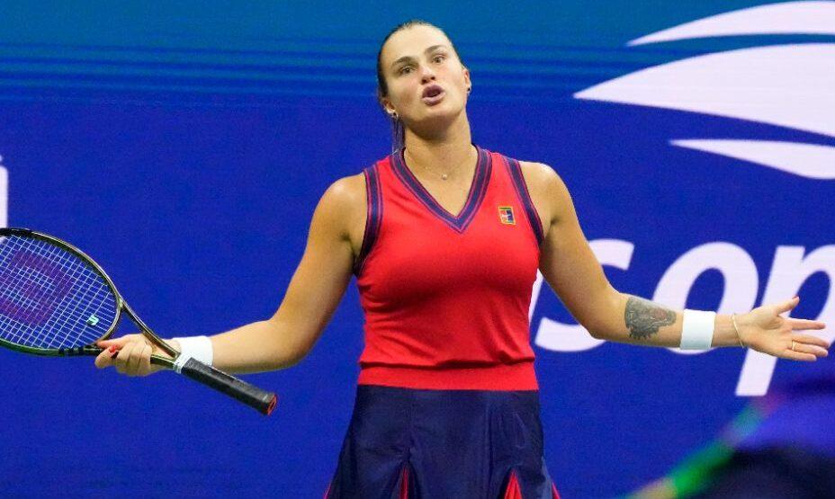Арина Соболенко, теннис