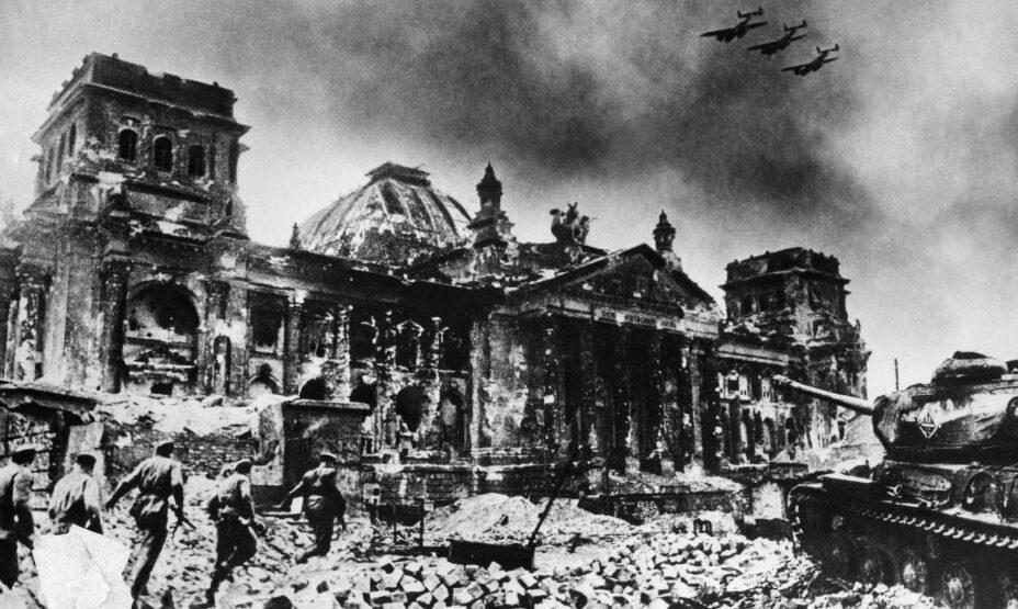 Взятие Рейхтстага 1945 год
